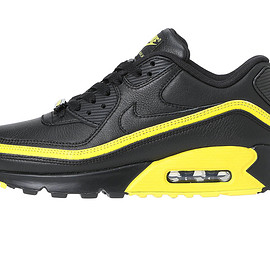 NIKE, UNDEFEATED - UNDEFEATED × NIKE AIR MAX 90 - BLACK/YELLOW CJ7197-001
