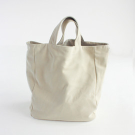 evam eva - sheep leather tote bag