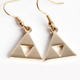 Sanshee - Triforce Earrings