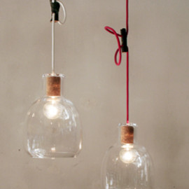 LANDSCAPE PRODUCTS - Bottle Lamp