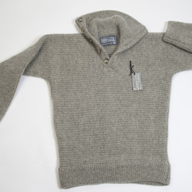 HeraTex - Wool Alpinist Pullover-Classic Button Neck