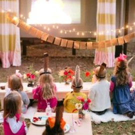 outdoor movie for kids