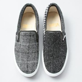 VANS - BEAUTY&YOUTH × HARRIS TWEED × VANS SLIP-ON