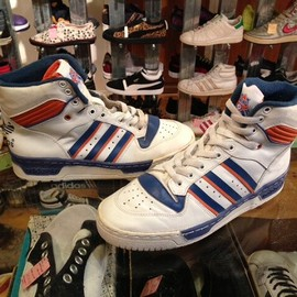 "adidas - 「<deadstock>1980s adidas EWING STAR knicks""made in CZECHOSLOVAKIA"" size:GB6/h(25cm) 5800yen」完売"