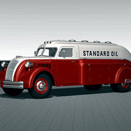 Chevron Standard Oil of California - Tanker Truck