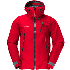 Norrona - Trollveggen-jacket Red