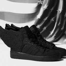 adidas originals - A$AP ROCKY × ADIDAS ORIGINALS BY JEREMY SCOTT JS WINGS 2.0 BLACK FLAG