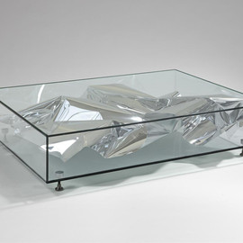 Fredrikson Stallard - SILVER CRUSH TABLE