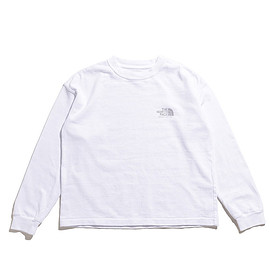 THE NORTH FACE PURPLE LABEL - THE NORTH FACE PURPLE LABEL/8oz L/S Logo Tee-White