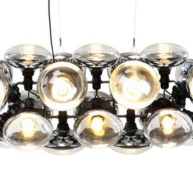 Tom Dixon - Bulb Chandelier Wide