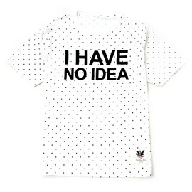 Mark Mcnairy - I HAVE NO IDEA TEE for Heather Grey Wall [WHITE]