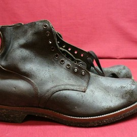 SPORTWELLT SHOE CO.INC. - USMC  Rough out boot 1958
