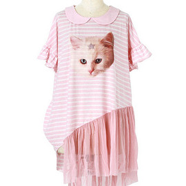 Candy Stripper - DREAMY CAT TULLE TOPS