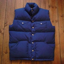 The North Face - 70's 65/35 Sierra Down Vest Brown Label