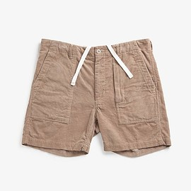 ENGINEERED GARMENTS - FATIGUE SHORT - 14W CORDUROY