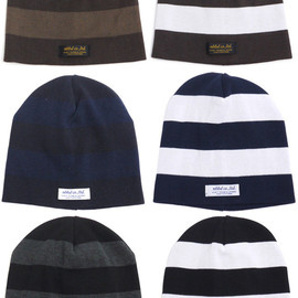 NEIGHBORHOOD - NEIGHBORHOODBORDERBEANIE.COOLMAX/CE-CAP(ビーニー)(キャップ)253-000225-000-【新品】
