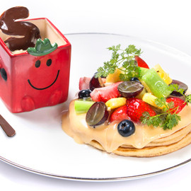 SUNDAY JAM+MR. MEN LITTLE MISS CAFE - MR.STRONG, Pancake