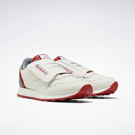 Reebok - Classic Leather Stomper Men's Shoes Chalk / Legacy Red / Pure Grey 6 EF3374
