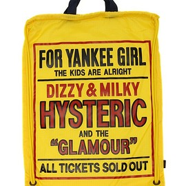 HYSTERIC GLAMOUR - HYSTERIC GLAMOUR LADYS(ヒステリックグラマーレディース)のDIZZY & MILKY pt ナップサック(バックパック/リュック)