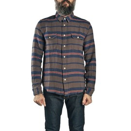 Levis Vintage Clothing - Levis Vintage Clothing Shorthorn Striped Shirt