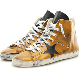GOLDEN GOOSE - HI CUT SNEAKERS