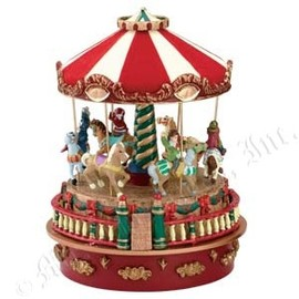 Mr. Christmas - MINIATURE CARNIVAL MUSIC BOXES - Carousel