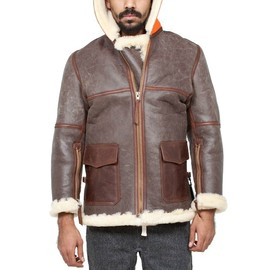 nigel cabourn - coastal commander sheepskin coat NIGEL CABOURN SHEEPSKIN COAT | PRESENT LONDON 20% SALE
