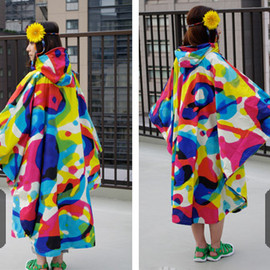 TOWER RECORDS × MARMOT RAINBOW PreCip(R) RAIN PONCHO