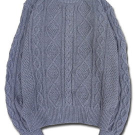 HEADGOONIE - HEADGOONIE FISHERMAN KNIT SWEATER