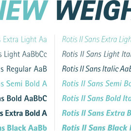 Monotype Imaging - Rotis II Sans