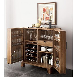 Crate & Barrel - Marin Bar Cabinet