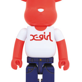 MEDICOM TOY - X-girl BE@RBRICK 1000%