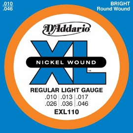 D'Addario - Regular Light Gauge EXL-110