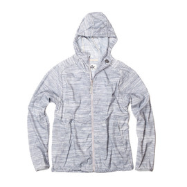 Reigning Champ - HOODED JACKET - HEATHER ASH