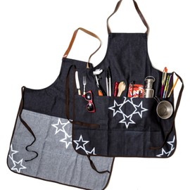OJAGA DESIGN, griot., GO OUT - Apron