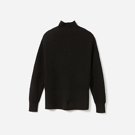 Everlane - The Cashmere Waffle Square Turtleneck