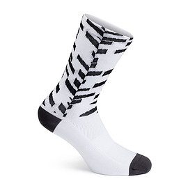 Rapha - Pro Team Socks - Data Print Extra Long ( White )