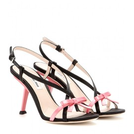 miu miu - FW2014 Satin sandals