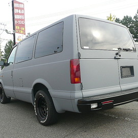 CHEVROLET - mat gray painted ASTRO