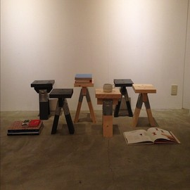 SONGBIRD DESIGN STORE. - 徳田木工「BOOK STOOL」