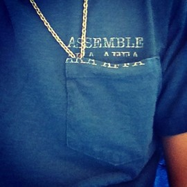 assemble a.k.a. AFFA - tee & necklace