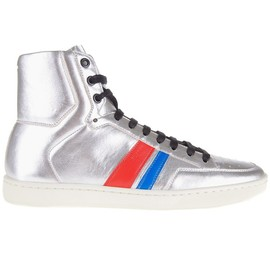 SAINT LAURENT - Court hi-top sneakers