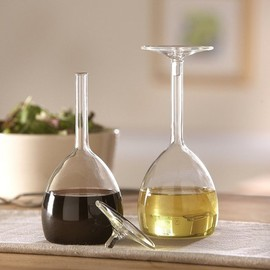 Jansen - Wine Glass Oil & Vinegar Set