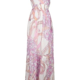 EMILIO PUCCI - Empire line maxi dress