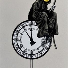 Banksy - Grin Reaper (silkscreen edition of 300)