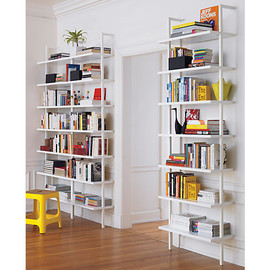 "CB2 - stairway 96"" wall mounted bookcase"
