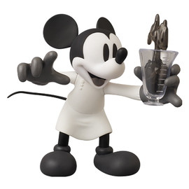 MEDICOM TOY - VCD MICKEY MOUSE(The Worm Turnsより) B/W Ver.