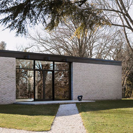 Philip Johnson - The Brick House, New Canaan, Connecticut, USA