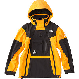 THE NORTH FACE - Gore-Tex Transformer Jacket - Saffron Yellow