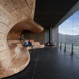 Snohetta Architects - Reindeer Spotting Pavilion
